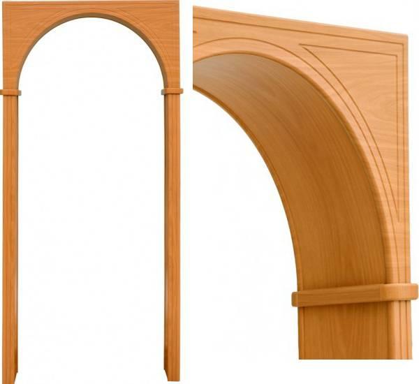 Как отделать арку обоями, декоративной штукатуркой, обоями и пластиком