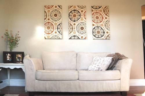 Картина из обоев на стену своими руками фото
